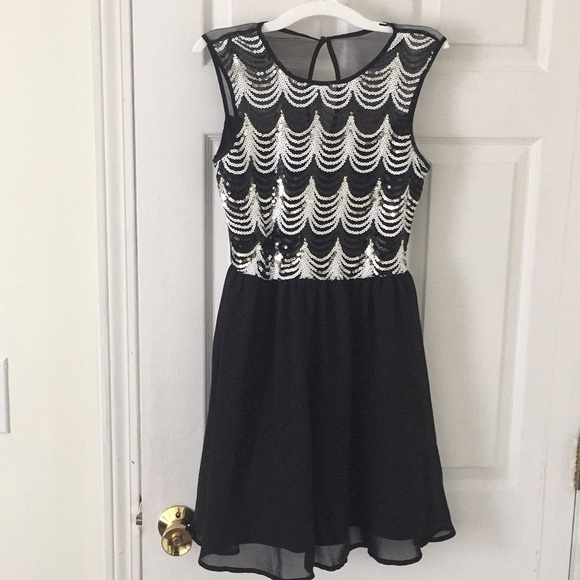 Jcpenney Dresses Black Homecoming Semiformal Dress Worn Once